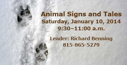 Animal Signs and Tales, Sat., Jan. 10, 2014