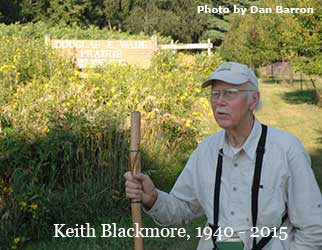 Keith Blackmore, 1940 - 2015, Photo by Dan Barron